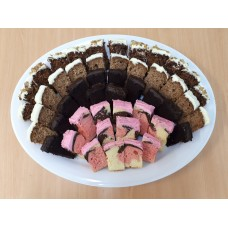 Platter of Barcake Slices (cut into finger portions)